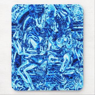 Tapis De Souris Shiva et étreinte de Shakti