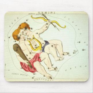 Tapis De Souris Signe de zodiaque : Gémeaux