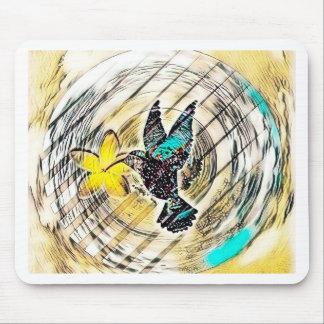 Tapis De Souris Silhouette de colibri