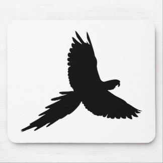 Tapis De Souris Silhouette de perroquet