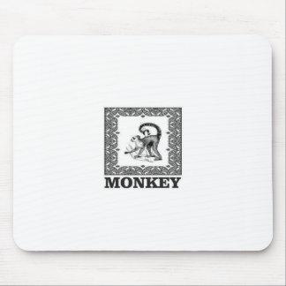 Tapis De Souris singe dans une boîte