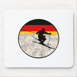 Tapis De Souris Ski Allemagne
