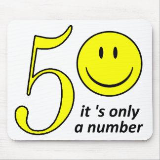 Tapis De Souris smiley it only a number 50