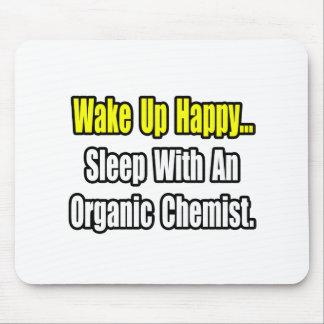 Tapis De Souris Sommeil avec un chimiste organique