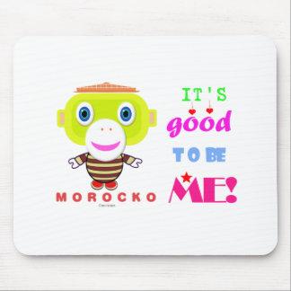 Tapis De Souris Son bon pour être Singe-Morocko -Mignon