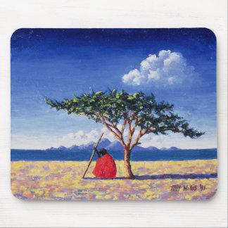 Tapis De Souris Sous l'arbre 1991 d'acacia