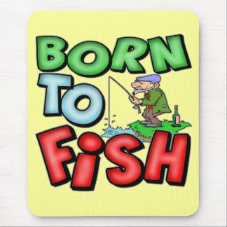 Tapis De Souris Soutenu pour pêcher le T-shirts et les cadeaux de