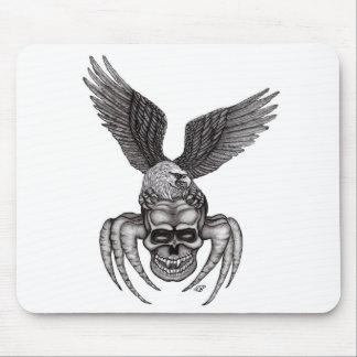 Tapis De Souris Spiderskull avec Eagle