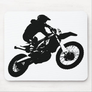 tapis de souris motocross personnalis s. Black Bedroom Furniture Sets. Home Design Ideas