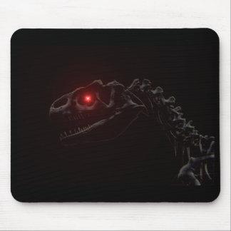 Tapis De Souris Squelette de dinosaure de zombi de vampires