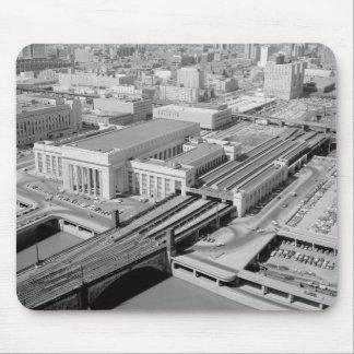 Tapis De Souris Station de rue de chemin de fer de la Pennsylvanie