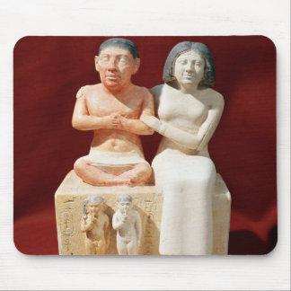 Tapis De Souris Statuette du Seneb nain et de sa famille