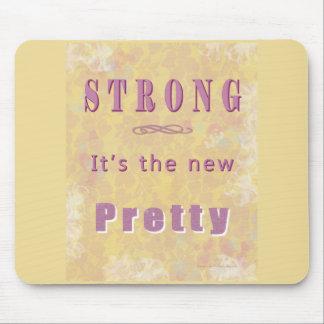 Tapis De Souris strong-the-new-pretty-yellow5