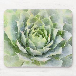 Tapis De Souris Succulent d'aquarelle