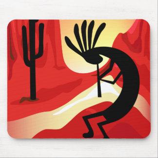 Tapis De Souris Sud-ouest Mousepad de coucher du soleil de désert