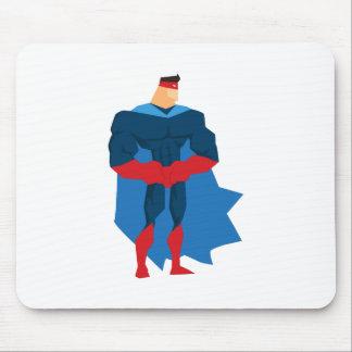 Tapis De Souris Super héros dans l'action