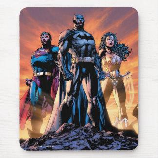 Tapis De Souris Superman, Batman, et trinité de femme de merveille
