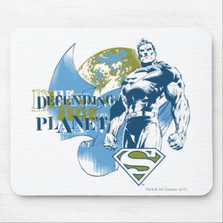 Tapis De Souris Superman | défendant la planète