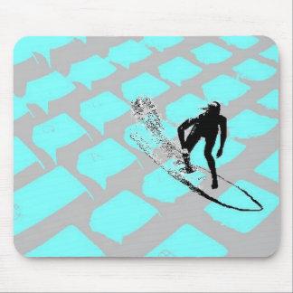 Tapis De Souris Surfin le Mousepad net
