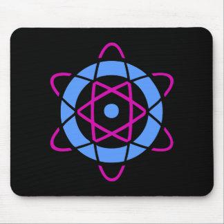 Tapis De Souris Symbole d'atome de geek de Sci fi