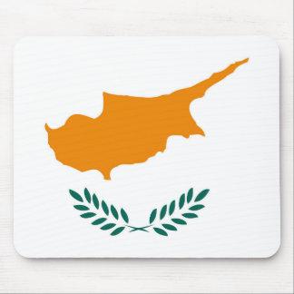 Tapis De Souris Symbole de drapeau de pays de la Chypre longtemps