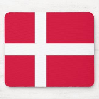 Tapis De Souris Symbole de drapeau de pays du Danemark longtemps