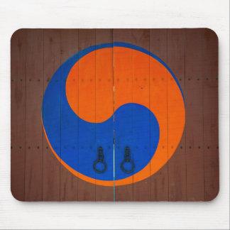 Tapis De Souris Symbole de Yin et de Yang, Corée du Sud