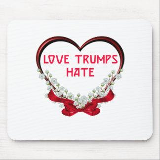 Tapis De Souris T-shirt de cadeau de Donald de haine d'atouts