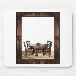 Tapis De Souris Tableau avec des chaises dans une conception de