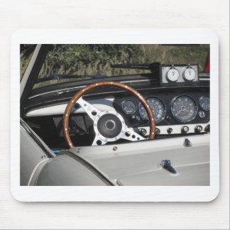 Tapis De Souris Tableau de bord d'une vieille voiture classique