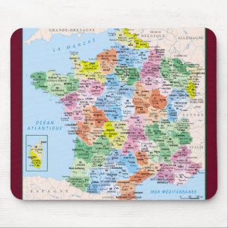Tapis De Souris tapis-de-souris France départements