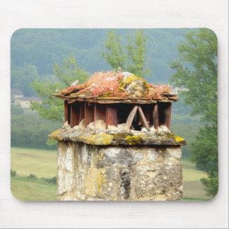 Tapis De Souris Tapis français antique de souris de cheminée