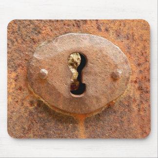 Tapis De Souris Tapis médiéval de souris de serrure de porte
