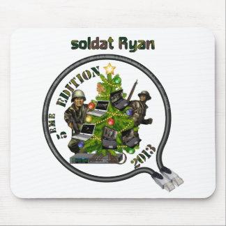 Tapis De Souris Tapis souris Lan de Noël soldat Ryan