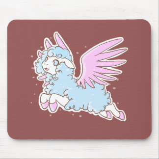 Tapis De Souris Tapis souris mousepad kawaii fantasy winged sheep
