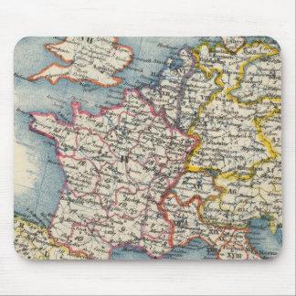 Tapis De Souris Tapis vintage de souris de l'Europe centrale de