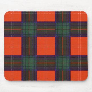Tapis De Souris Tartan d'écossais de plaid de clan de Chisholm
