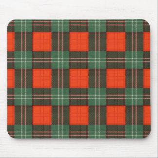 Tapis De Souris Tartan d'écossais de plaid de clan de Lennox