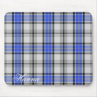 Tapis De Souris Tartan écossais majestueux de Hannay de clan