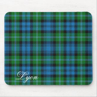Tapis De Souris Tartan écossais majestueux de Lyon de clan