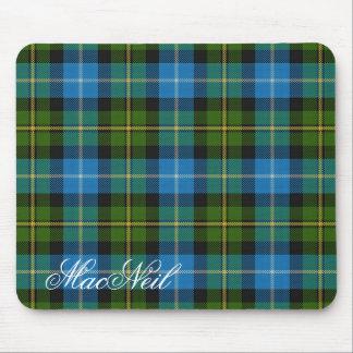 Tapis De Souris Tartan écossais majestueux de MacNeil de clan