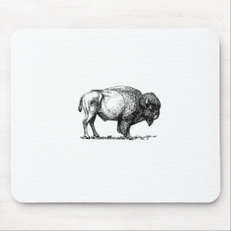 Tapis De Souris taureau costaud de buffle