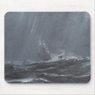 Tapis De Souris Tempête de Gneisenau en Mer du Nord 1940. 2006