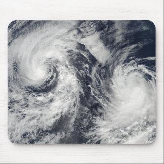 Tapis De Souris Tempêtes tropicales Boris et Cristina