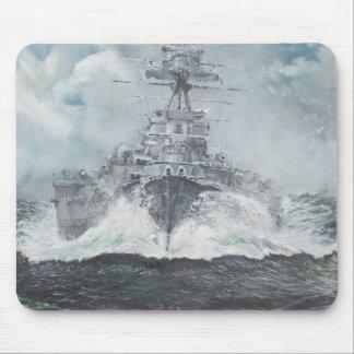 Tapis De Souris Têtes de capot pour Bismarck 23rdMay 1941. 2014