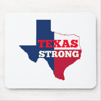 """Tapis De Souris Texas de rouge, blanc et bleu le """"fort """""""