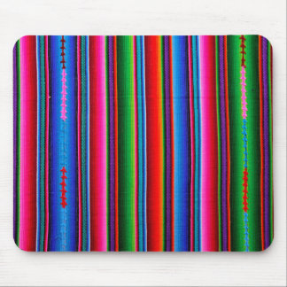 Tapis De Souris Texture de tissu mexicain