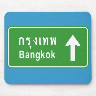 Tapis De Souris ⚠ thaïlandais de poteau de signalisation de route