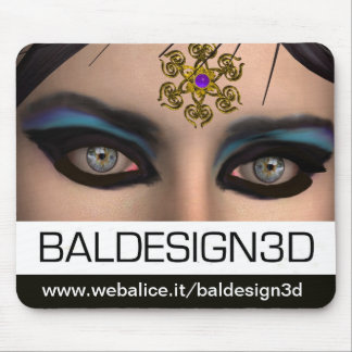 Tapis De Souris THEDA/Baldesign3d