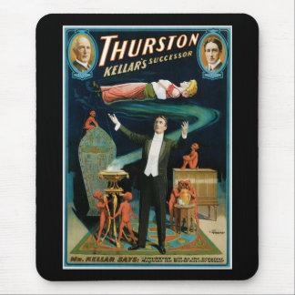 Tapis De Souris Thurston, magicien de cru de successeur de Kellers